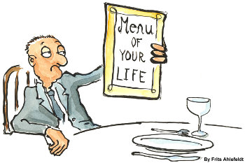 Menu of your Life by Frits Ahlefeldt