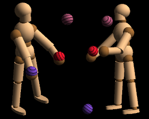 machine learning: robot jugglers